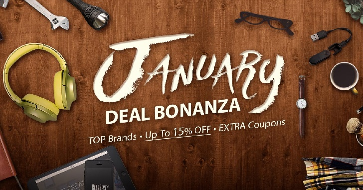 Распродажа «January Deal Bonanza» от GearBest - скидки до 21%