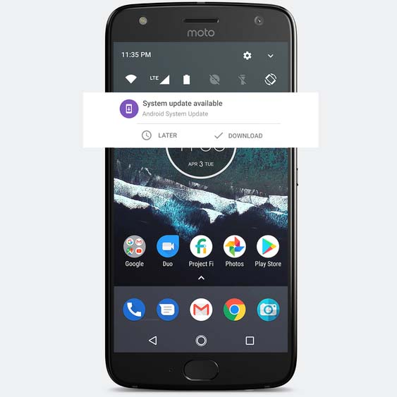 В рамках программы Android One представлен Moto X4