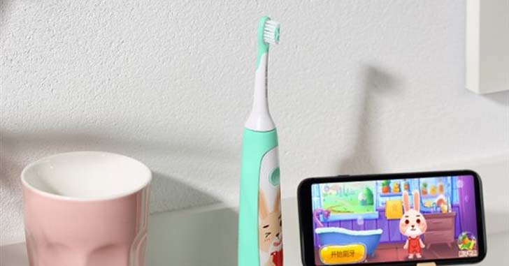 Детская зубная щетка Xiaomi Children Sonic Electric Toothbrush
