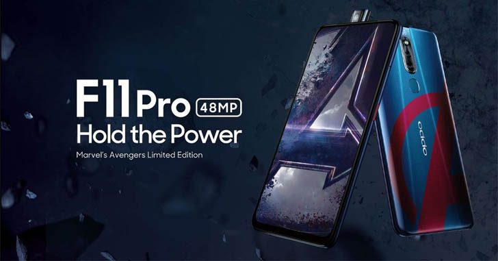 Представлен Oppo F11 Pro Marvel's Avengers Limited