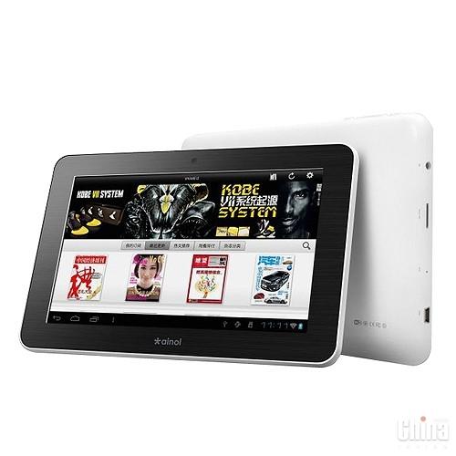 Ainol представила два новых планшета - Tornados и Mars