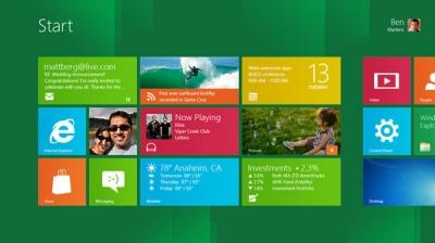Первые планшеты на Windows 8 выйдут осенью