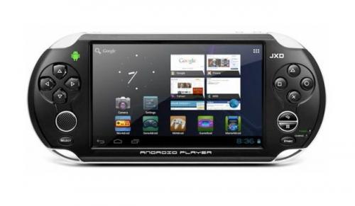 Игровая консоль JinXing Digital JXD S5110 на андроиде