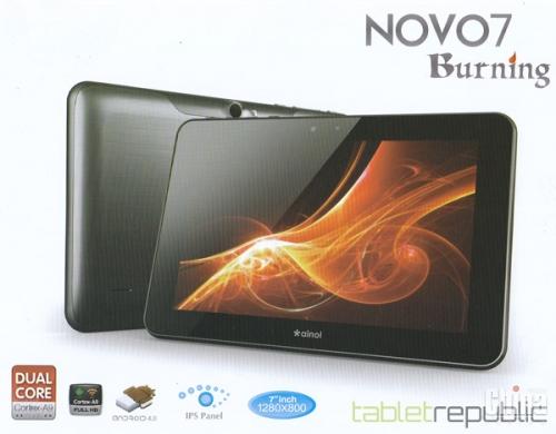 Новые модели планшетов Ainol - спецификация и фото