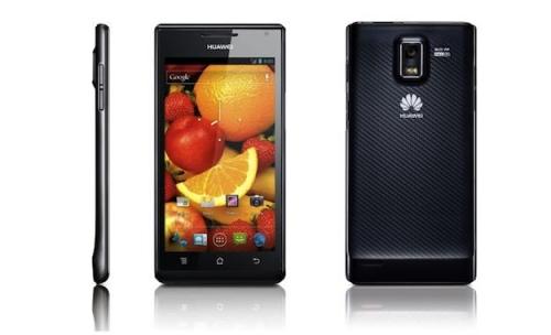 Huawei Ascend P1 официально в России