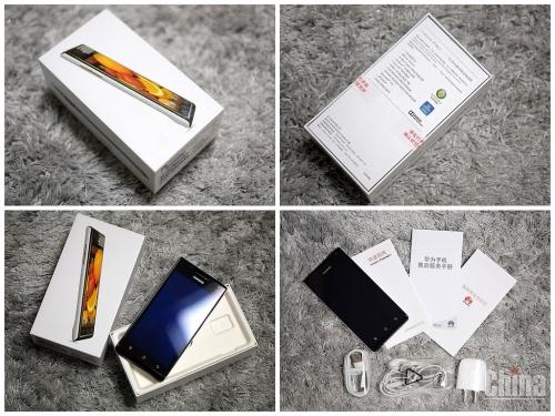 Распаковка китайского Huawei Ascend P1 (фото)