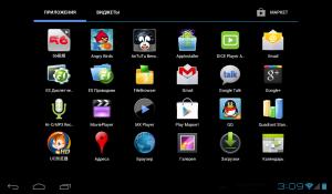 Обзор планшета Ainol NOVO7 Mars