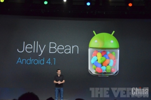 Официально представлена новая ОС Android 4.1 Jelly Bean