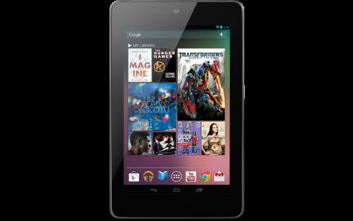 Официально представлен планшет Google Nexus 7 по цене 199$