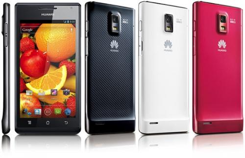 Смартфон Huawei Ascend P1 XL появится в продаже уже с этого месяца