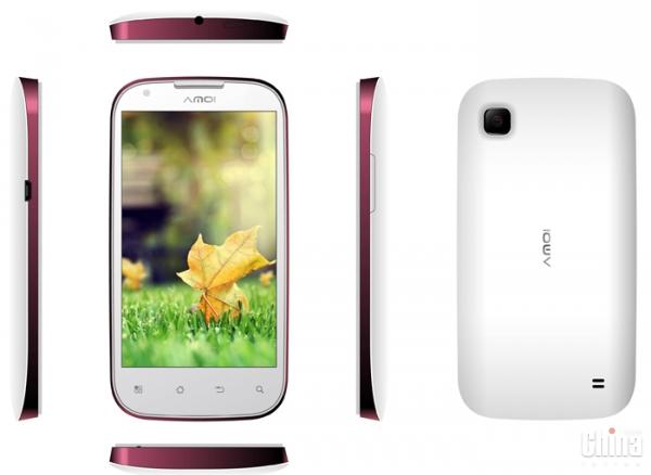 Amoi выпустит двухъядерный андроид-смартфон с камерой на 8МП за $159