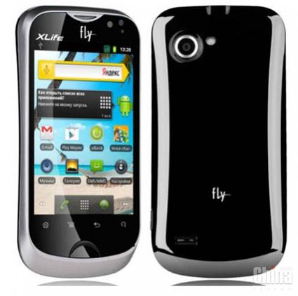 Новый андроид-смартфон Fly Marathon (IQ275) с мощной батареей