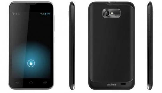 Смартфон Gionee GN700W на MTK6577 и с 4,3-дюймовым IPS-дисплеем