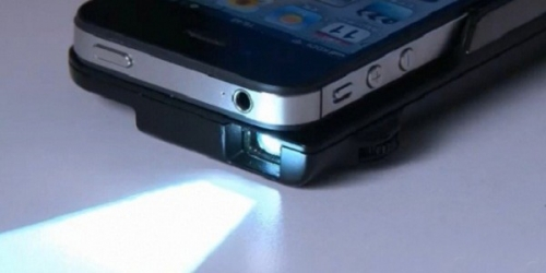 Sanwa PRJ016 - аксессуар, который делает из iPhone проектор (видео)