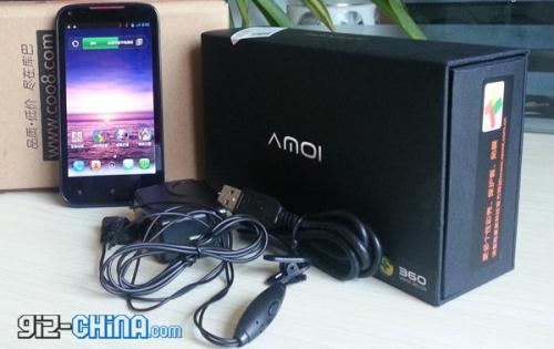 Amoi N820 Big V - живые фото