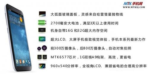 UMEOX Arc - 5.3-дюймовый конкурент Zopo ZP900