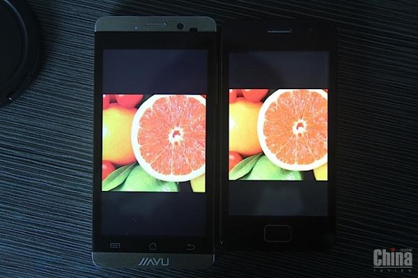 Экран который не понравился. Сравнение неугодного дисплея JiaYu G3 и JiaYu G2
