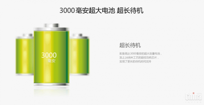 JiaYu G3 еще раз обновят - теперь чипсет МТ6589Т и аккумулятор 3000 мАч