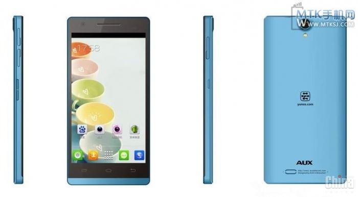 AUX W6 - тонкий 5-дюймовый смартфон по цене около $ 200