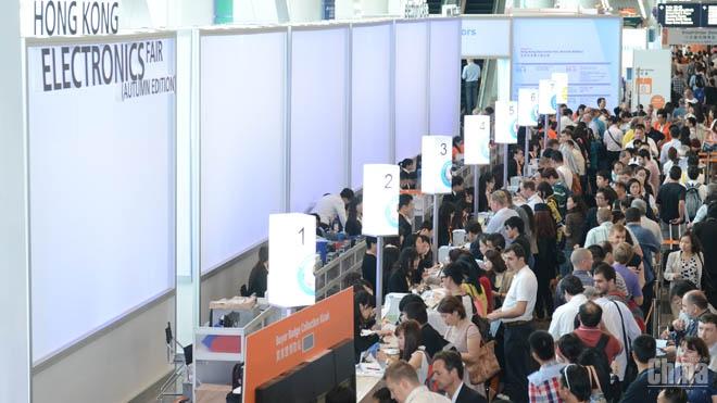 Послезавтра в Китае стартует осенняя выставка электроники Hong Kong Electronic Fair