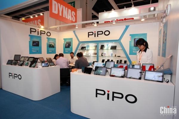 Видеообзор всех новинок Pipo с выставки Hong Kong Electronics Fair