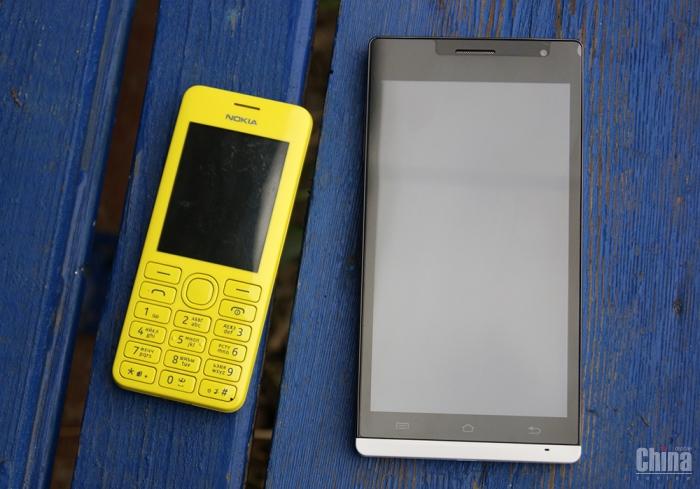 Обзор смартфона CUBE TALK5H