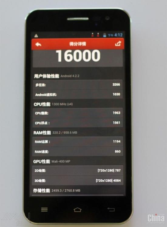 JiaYu G2F - конкурент Xiaomi Red Rice по цене $ 82!