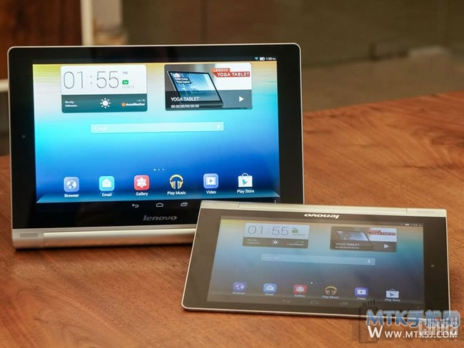 Фотографии Android планшетов Lenovo Yoga