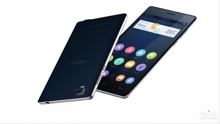 U1 EBEST - teléfono inteligente extremadamente delgado y elegante