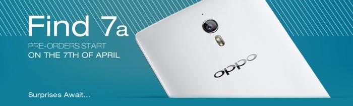 Международные продажи OPPO Find 7a стартуют 7 апреля