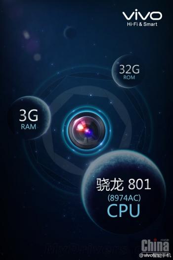 Vivo опубликовал тизер нового hi-end смартфона X-Zoom