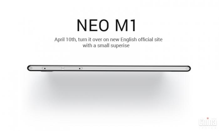 Модный смартфон Neo M1 выйдет 10 апреля