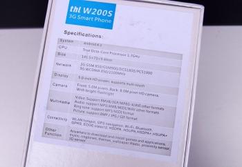 Обзор Thl W200S