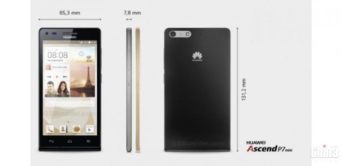 Анонсировали мини-версию Huawei Ascend P7 Mini (обновлено, это Ascend G6 LTE)