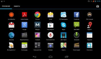 Обзор планшета MYTAB Como U51GT