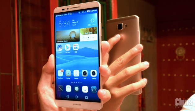 Представлен Huawei Mate 7