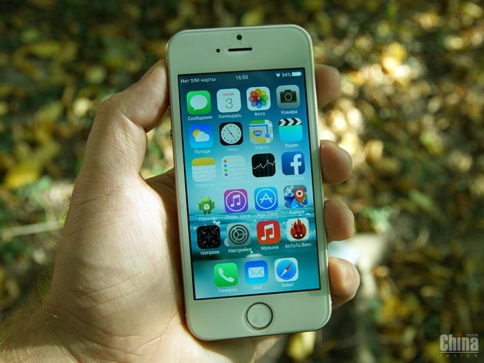 Обзор Goophone i5s - стопроцентная копия iPhone 5s
