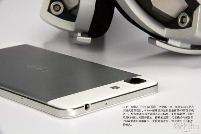 Фотообзор музыкального смартфона Vivo X5