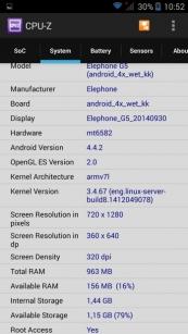 Обзор смартфона Elephone G5