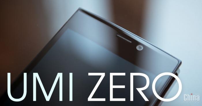 Обзор UMI ZERO. Приковывающий взгляды