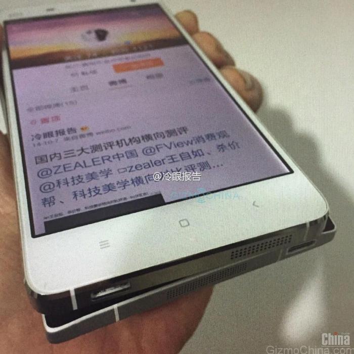 Первый взгляд на Xiaomi Redmi Note 2 - задняя крышка с изогнутым стеклом
