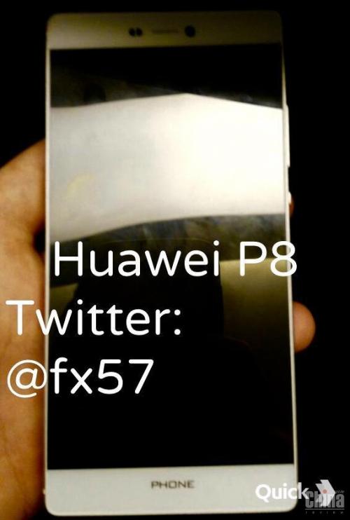 Утечка фото и характеристик Huawei P8