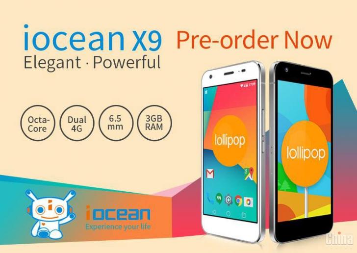 Начался предзаказ на iOcean X9 по цене $250