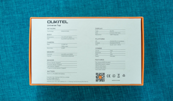 Обзор Oukitel U8 Universe Tap. Сканер отпечатков, Lollipop 5.1 и металл