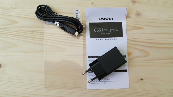 Siswoo C55 - продолжение традиций Zopo