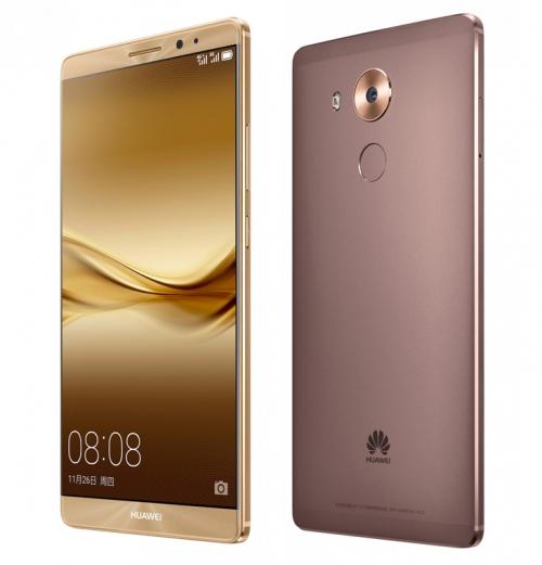 Официально представлен hi-end фаблет Huawei Mate 8