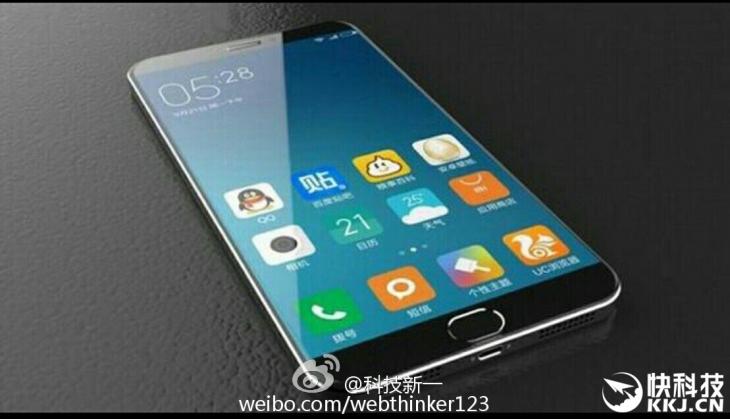 Утечка фото передней панели Xiaomi Mi5