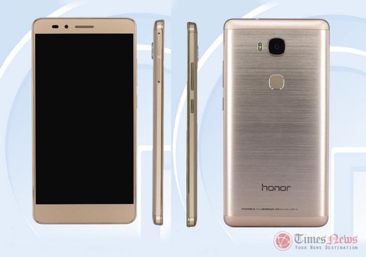 Топовая версия Huawei Honor 5X с 3 ГБ RAM засветилась на Tenaa