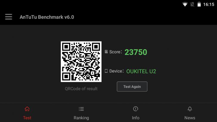 Обзор Oukitel U2 — красивый и недорогой