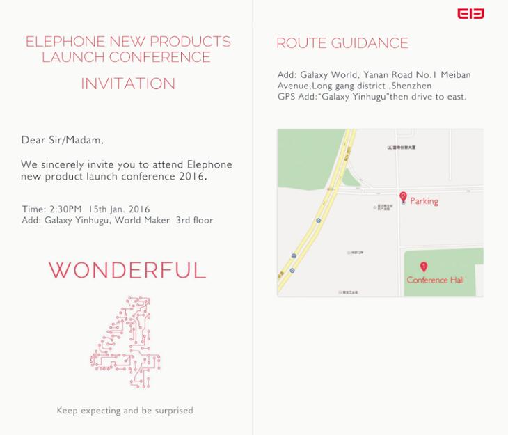 15 января Elephone представит смартчасы W2, павербанк ELE Power, а также смартфоны P9000 и M3